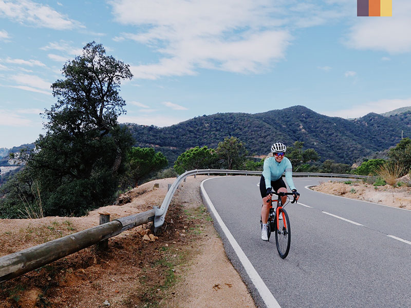 Incredible views on a road cycling holiday in the Pyrenees