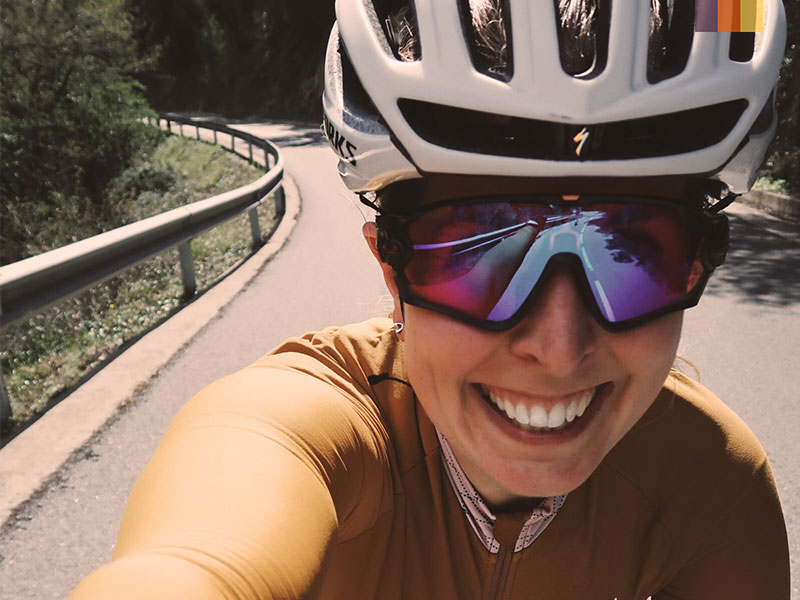 Els Angels cycling climb in Girona