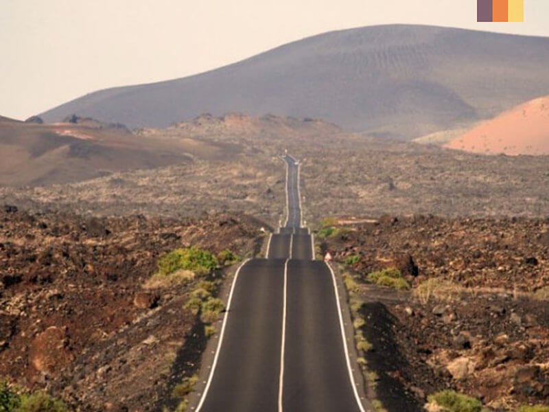 Timanfaya National Park on a Lanzarote cycling holiday