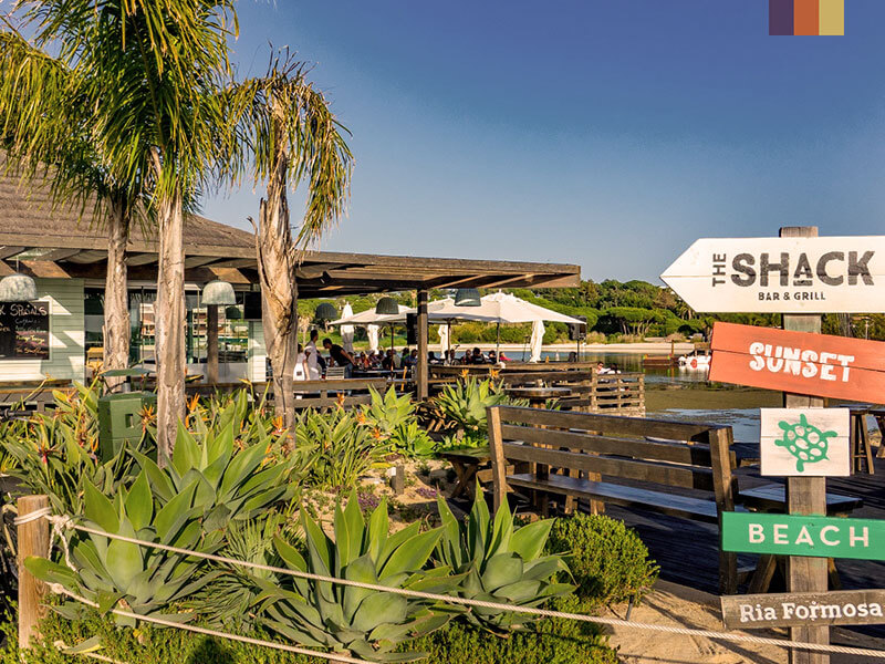 The Shack Bar and Grill in Algarve