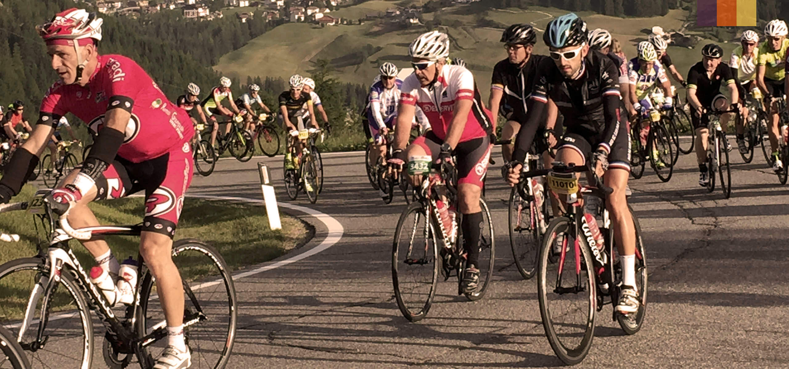 Riding the epic Maratona!